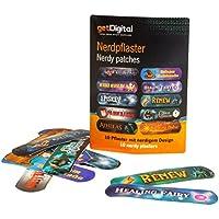 getDigital 14266 Nerdpflaster   Set mit 10 selbstklebenden Pflastern, jedes mit Einem Anderen nerdigen Heilzauber... preisvergleich bei billige-tabletten.eu