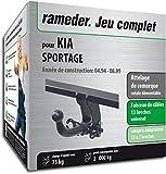 Rameder Attelage rotule démontable pour KIA SPORTAGE + Faisceau 13 Broches...