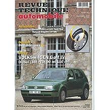 Revue technique automobile, n° 622 : Volkswagen Golf IV diesel