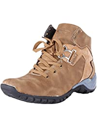 Marshal Tiger Woodlee Men's Teak Synthetic Leather Boots