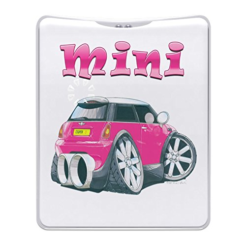 maranda-ti-mt163-mi-torch-pink-mini-cooper-car-handy-handbag-purse-flashlight-plastic-multi-colour