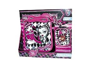 Monster High - Pack Bolso Vertical + Monedero Cuadrado (Karactermania 02373)