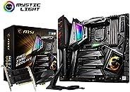 MSI MEG Z390 GODLIKE LGA1151 (Intel 9th, 8GB, 8GB, Intel Z390 DDR4 SATA 6Gb/s M.2 USB 3.1 Gen2 PCIe 3.0 x16 E-