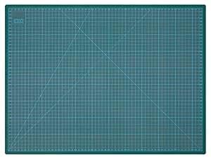 Wedo 079160 Tapis de découpe 600 x 450 x 3 mm Vert