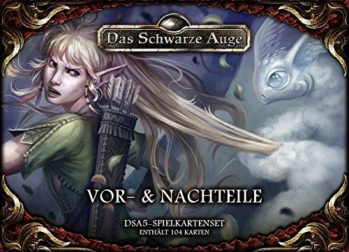 dsa5 spielkartenset DSA5 Spielkartenset Vor- und Nachteile (Das Schwarze Auge: Regelwerke)