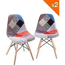 chaise patchwork. Black Bedroom Furniture Sets. Home Design Ideas