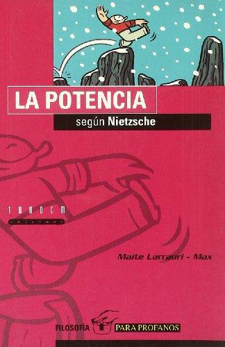 La potencia según Nietzsche (Filosofía para profanos) por Maite Larrauri Gómez