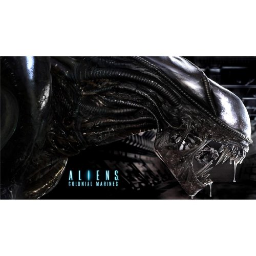 Aliens-Colonial-Marines-43inch-x-24inch-107cm-x-60cm-Silk-Print-Poster-Seide-Plakat-52283D