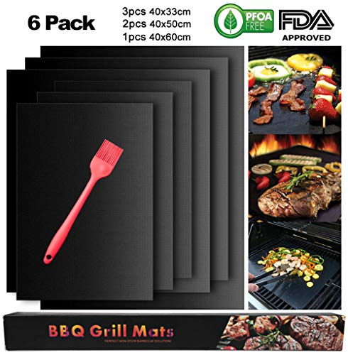3pcs Nonstick Glass Fiber Bbq Grill Mat Barbecue Grilling Pad Churrasco Grill Topper Mesh Net Outdoor Camping Picnics Bbq Tools Price Remains Stable Bbq Garden Supplies