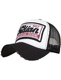 Amlaiworld Gorras Gorras de béisbol Verano Bordada de Unisexo Hombre Mujer  Visor Sombreros de Malla para Hombres Mujeres Sombreros… 1dbd7a36765