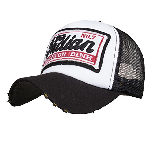 Amlaiworld Gorras Gorras de béisbol Verano Bordada de Unisexo Hombre Mujer  Visor Sombreros de Malla para Hombres 58bca5c7af6