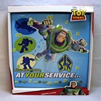 Disney Pixar Toy Story: Canvas Wall Clock (At Your Service) by Sambro