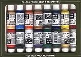 Vallejo val899Peinture Model Color napoléoniennes Peinture acrylique–Couleurs assorties (Lot de 16)