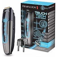 Remington Touch Tech Bartschneider MB4700, digitale TouchScreen-Oberfläche, langlebiger Lithium Akku, 0,4-18mm Längeneinstellung, Netz-/Akkubetrieb, Micro-USB-Ladefunktion (inkl.Kabel)