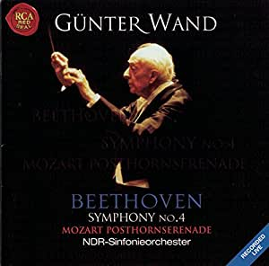 Serenade in D Major/Symphony No. 4 (Wand, Ndr So)