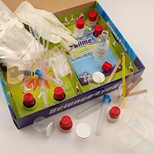 Imagen 2 de Science4you Fábrica de los pegamonstruos - Slime - Juguete científico y educativo