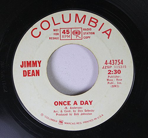 jimmy-dean-45-rpm-once-a-day-lets-pretend