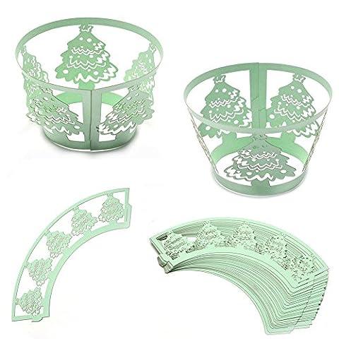 Wrapper Costume - Jovivi 25Pcs Emballages De Gâteau Caissettes De