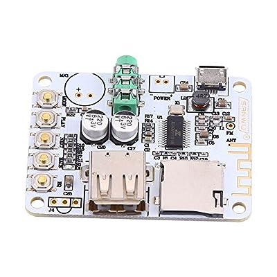 Module Carte de Récepteur Audio Bluetooth sans Fil Amplificateur Stéréo avec USB TF FM MP3 Décodeur WMA WAV FLAC Player(SET 2) de Walfront