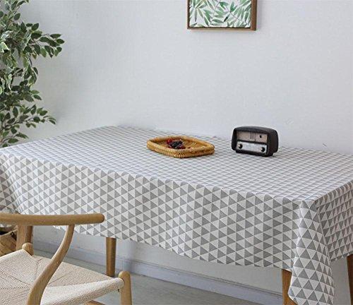 Monts Petite Fresh Chiffon Lin Restaurant Nappe Rectangulaire Maison nappes Table Basse Serviette de Coque, Lin, 2, 120 * 120