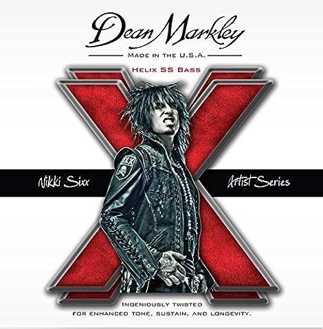DEAN MARKLEY 311396 2620 50-110 Helix Nikki Sixx Gitarre Zubehör