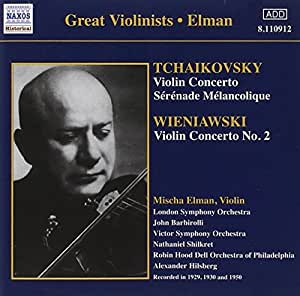 Tchaikovsky. Wieniawski-Violin Concertos