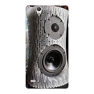 Aqua Speaker Back Case Cover for Sony Xperia C4