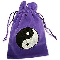 Find Something Different  Yin Yang Purple Luxury Velvet Tarot Card, Porte-monnaie mixte enfant