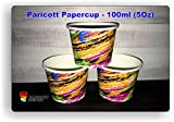 #6: Paricott Crayon Printed Disposable Party Paper Cups 100ml Each - 200 Pieces
