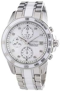 Seiko - SNDX95P1 - Montre Femme - Quartz Chronographe - Chronomètre - Bracelet Acier Inoxydable Multicolore