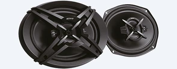 Sony XS-FB693E 3-Way Coaxial Car Speakers (Black)
