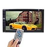 Stereo auto MP3 DVD Player, 17,8 cm touch screen Car audio video Player doppio 2 DIN in dash auto Bluetooth Audio multimediale sistema Surpport FM radio/SD/USB/AUX audio input