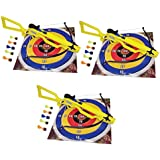 Sa Sports Sniper Toy Crossbow (568), Competitive Shooting Game Kit: 3 Crossbows, 3 Targets, 18 Safety Darts