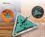Dreiecks-Akku-Besen mit 360° Bürstensystem