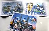 Eddy-Art 3Diferentes Impresiones artísticas con Hertha BSC-Stars por el Precio de 2-Directamente Desde el Artista 30cm X42
