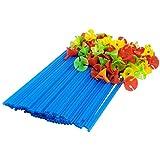 TRIXES 100 soportes multicolor para globos ideales para fiestas y...
