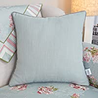 Xwuhan More colors Pastoral style hug pillowcase PP cotton back cushion pillowcase for sofa and bed -F 30x42cm(12x17inch) VersionA