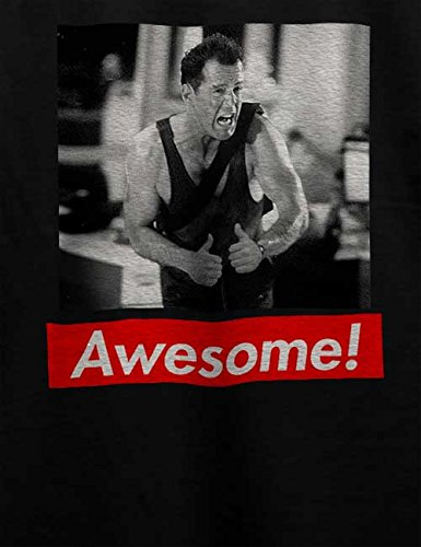 Awesome 25 T-Shirt Schwarz