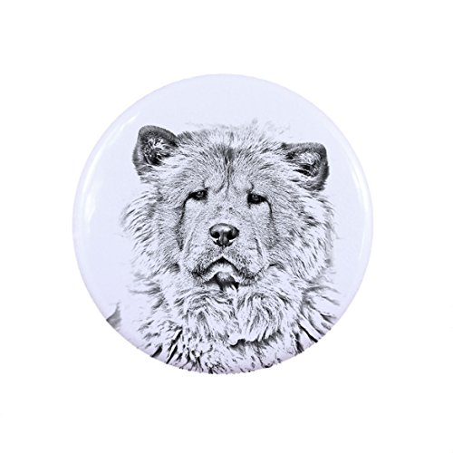 chow-chow-a-button-badge-with-a-dog