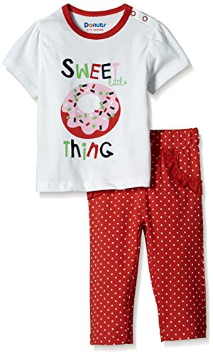 Donuts Baby Girls' Clothing Set (268007852_12M_ASSORTED)
