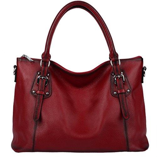 yaluxe-donna-vintage-stile-morbido-vera-pelle-elegante-grande-borse-a-tracolla-weinrot