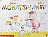 Helme Heine Monatsplaner - Kalender 2019