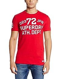 Superdry Herren T-Shirt Trackster S/S Tee