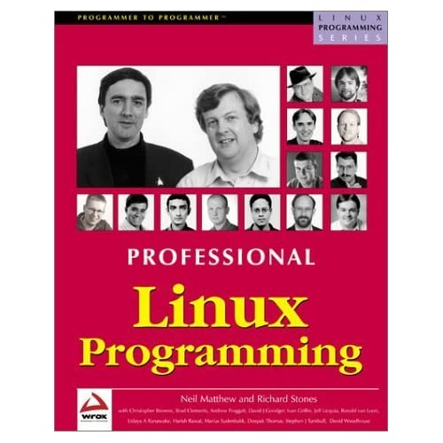 Professional Linux Programming by Neil Matthew and Richard Stones, Brad Clements, Andrew Frogg (2000) Paperback