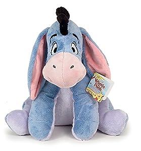 PTS - Peluche Eeyore - Hi-Oh el Burro de Winnie-The-Pooh - Peluche Grande de 43 cm de Altura - Versión Clásica Original Disney