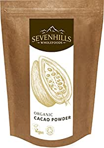 Sevenhills Wholefoods Organic Cacao / Cocoa Powder 500g