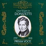 Donizetti : Great Singers in Donizetti
