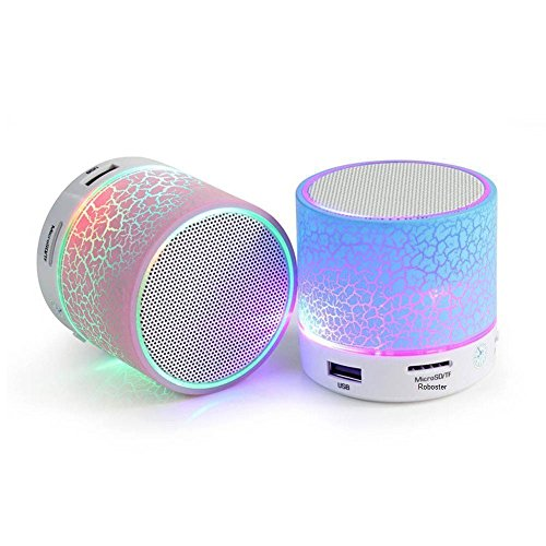 Treecase Rechargeable Bluetooth Speaker With Led Wireless Bluetooth Speaker With Handsfree Calling Feature, Sd Card Slot ,Assorted Colour For Micromax CANVAS HD A116  available at amazon for Rs.299