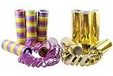 Serpentinas KIDDYPARTY, paquete de 10 unidades de papel calidad PREMIUM, 5 unidades...