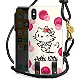 DeinDesign Carry Case kompatibel mit Apple iPhone XS Max Hülle zum Umhängen Handykette Hello Kitty Fanartikel Merchandise Fan Article Merchandise